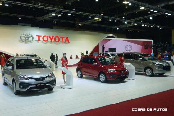 Stand de Toyota en el Salón de Buenos Aires 2017