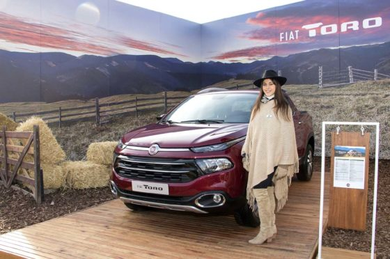 Fiat Toro en La Rural