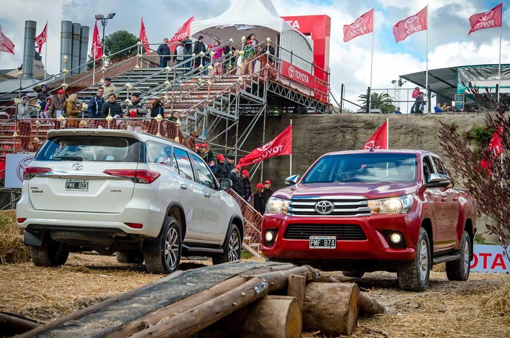 Toyota, firme junto al campo en la 131º Exposición Rural