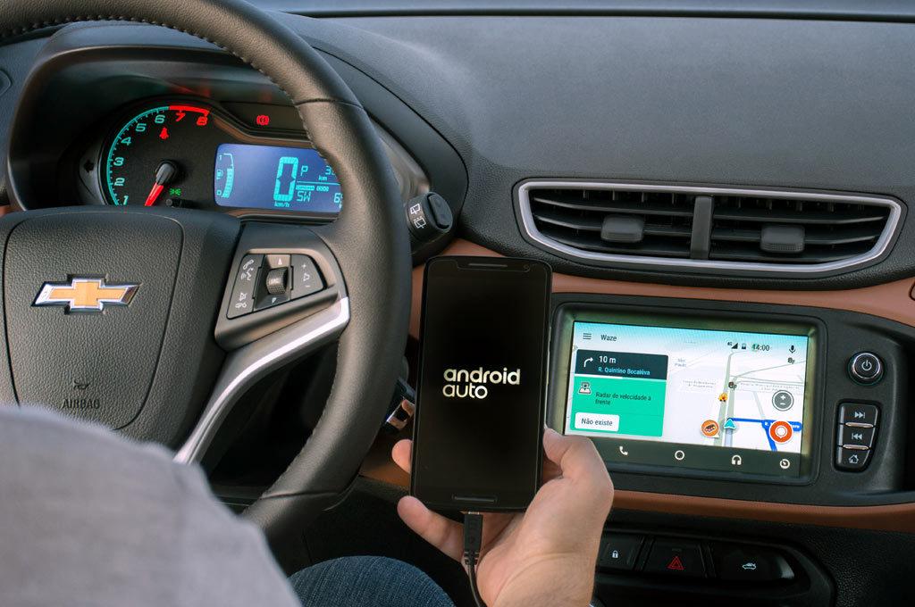 Waze en el Chevrolet Onix