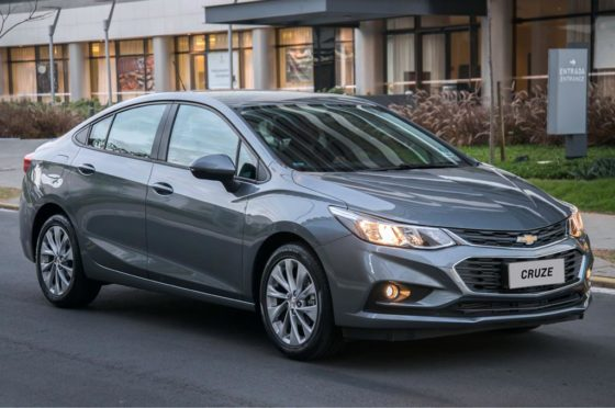 Chevrolet Cruze MY 2018
