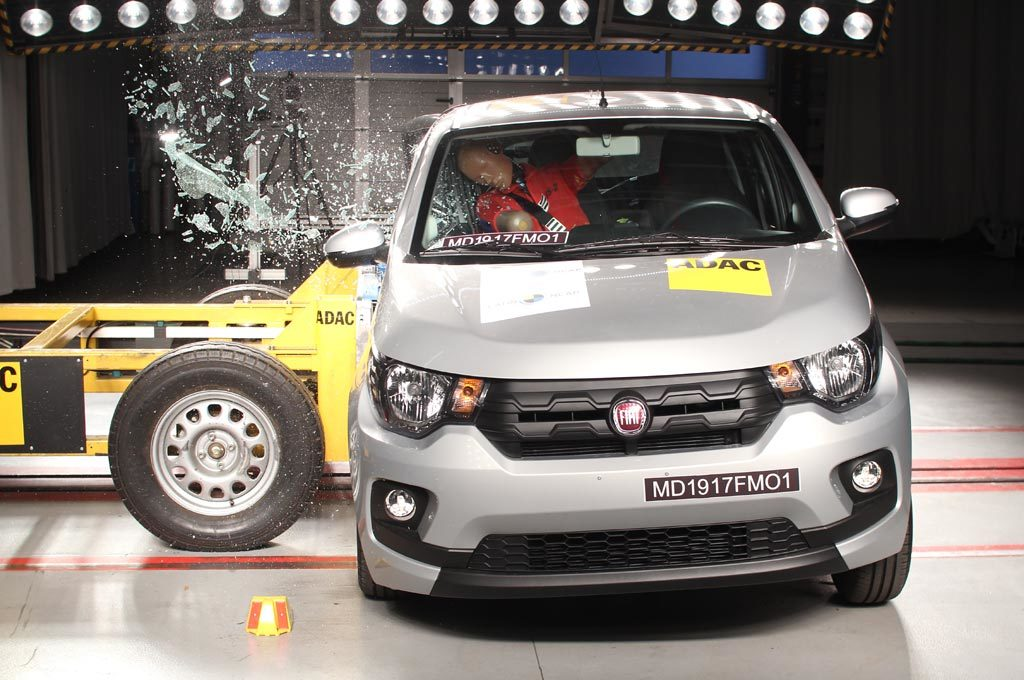 Fiat Mobi en los test de Latin NCAP