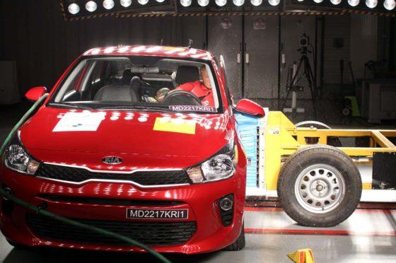 Kia Rio Sedán testeado por Latin NCAP