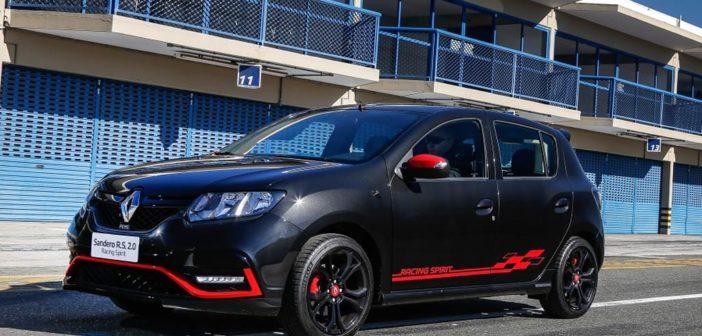 Argentina: sale a la venta la edición especial Renault Sandero R.S. Racing Spirit