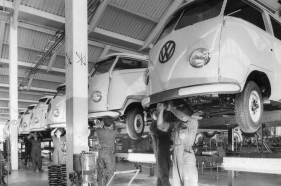 VW fabricó la Kombi en Anchieta