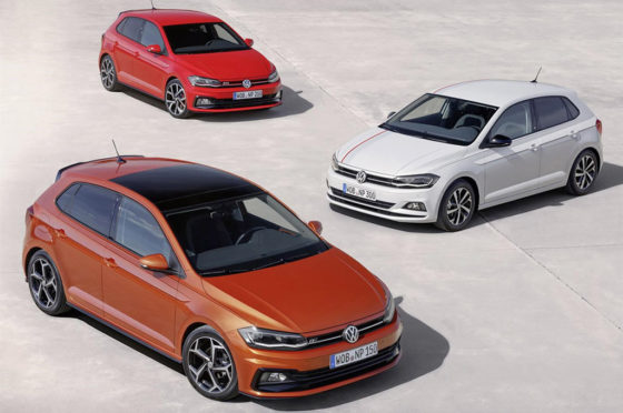 VW Nuevo Polo europeo