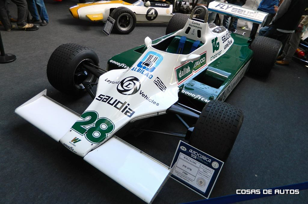 Williams FW07 de 1980 de Reutemann