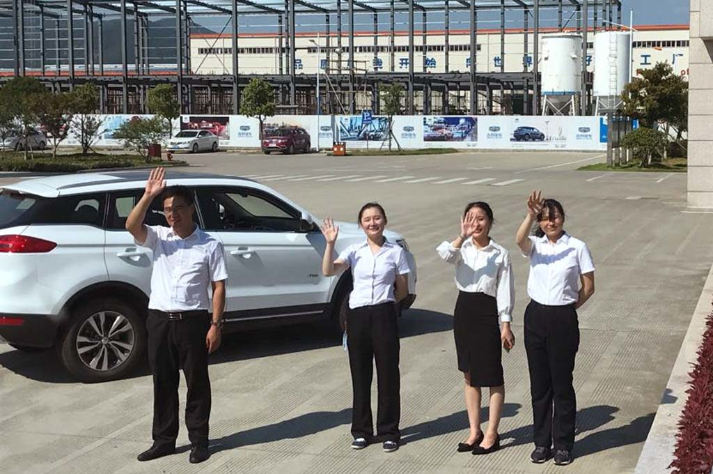 Geely Argentina visitó China