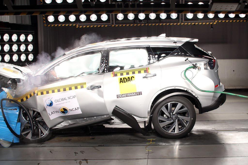 Nissan Murano - LatinNCAP