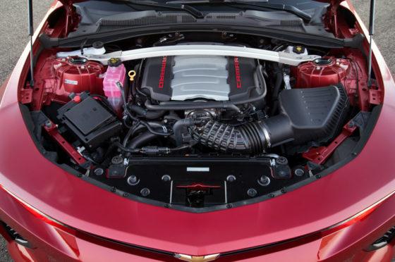 Motor del Camaro SS 2018