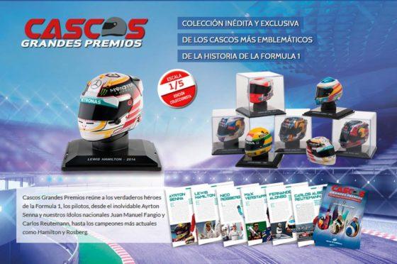 Coleccion Cascos Grandes Premios