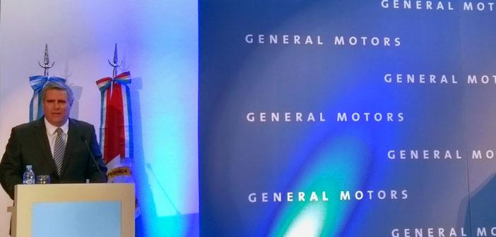 Argentina: GM anunció una inversión de u$s 500 millones para producir un nuevo modelo global
