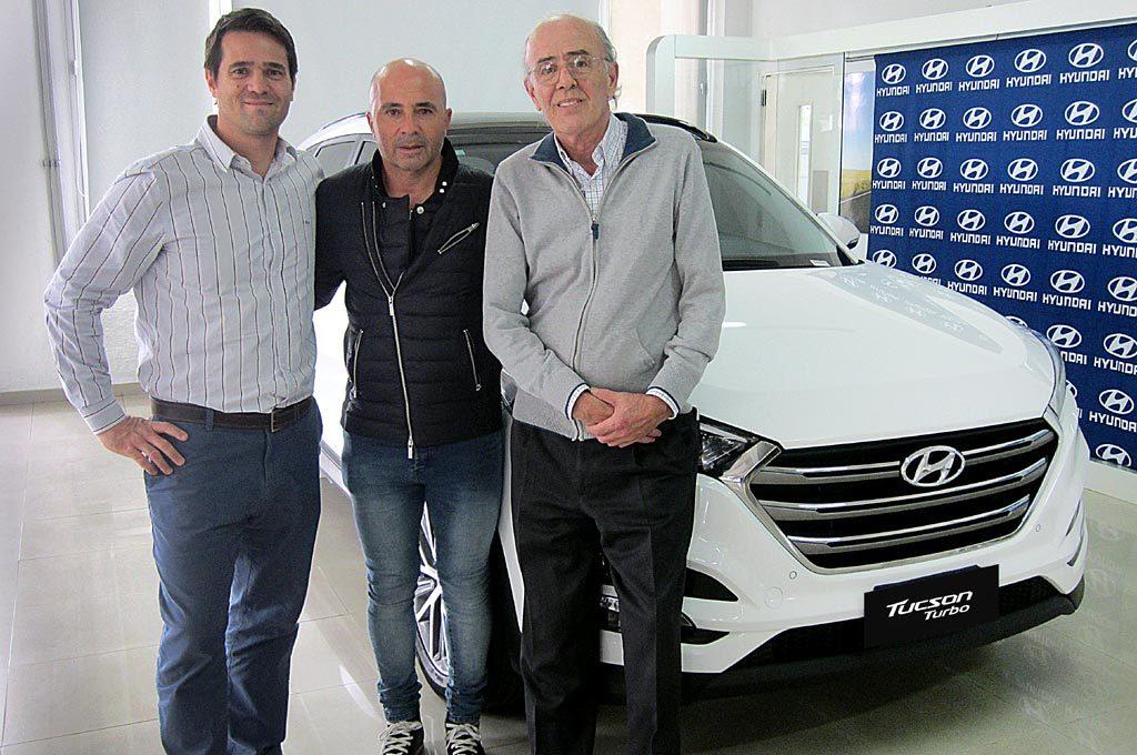 Hyundai junto a Sampaoli