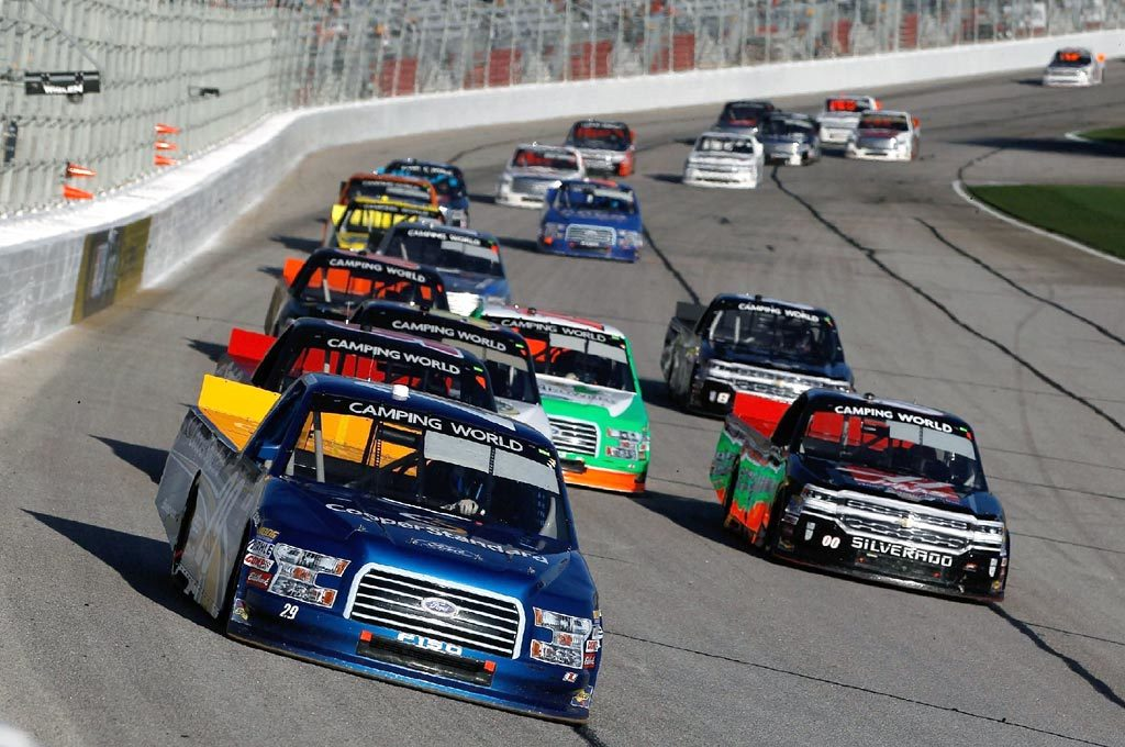 Nascar Camping World Truck Series.