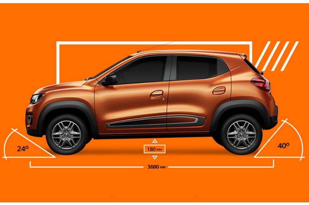Renault Kwid medidas