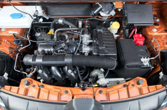 Motor del Renault Kwid