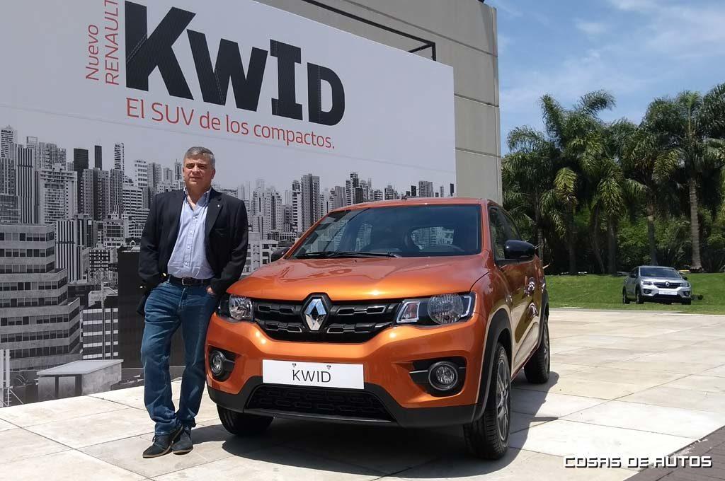 Alejandro Reggi, director comercial de Renault Argentina