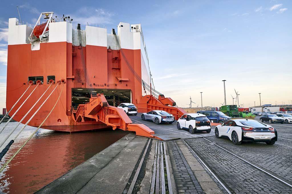 Shipping de autos en Europa