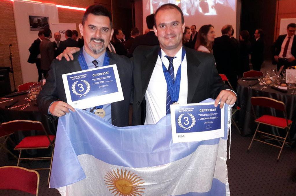 Peugeot Argentina quedó en el podio mundial de Posventa