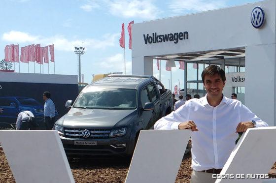 Martín Massimino, gerente general de VW Argentina