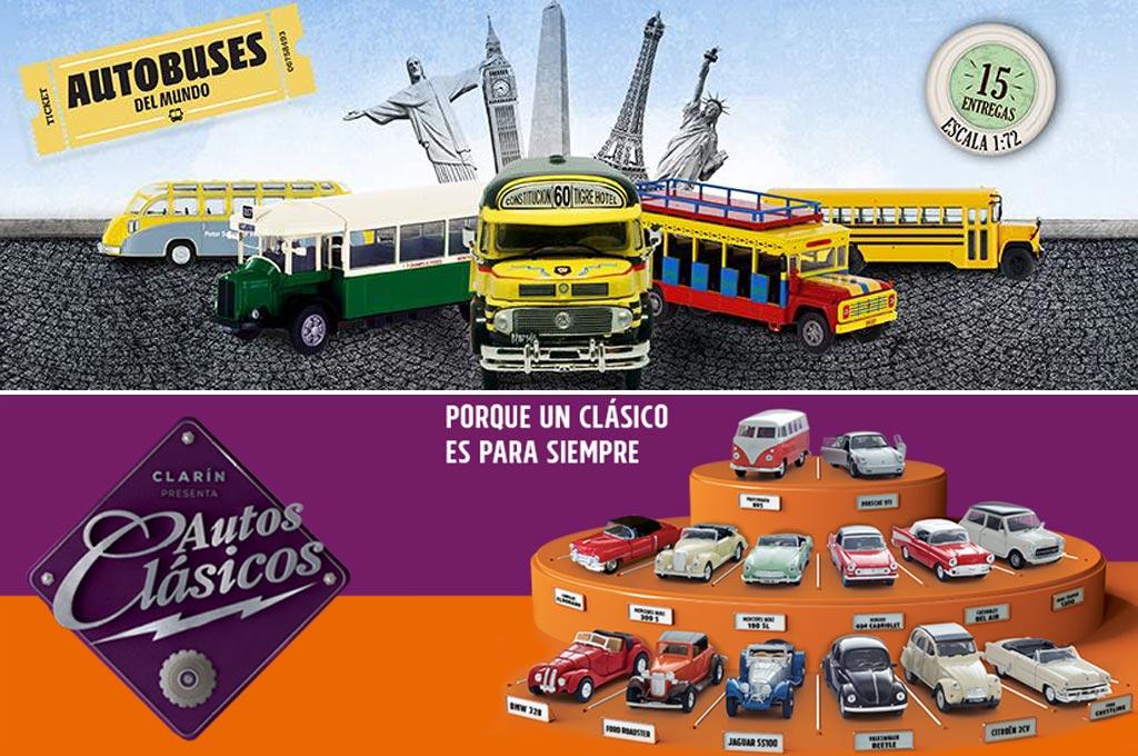 Autobuses Vs Clasicos Dos Nuevas Colecciones A Escala Que Atentan