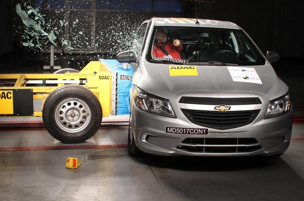 Chevrolet Onix Latin NCAP
