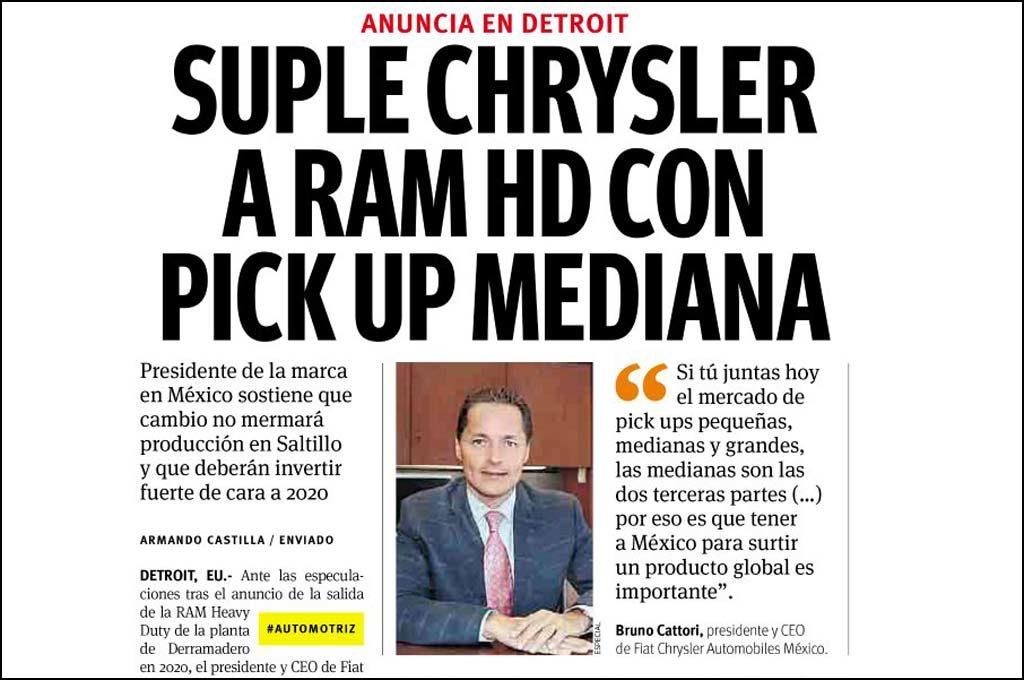 Anuncio de RAM en México