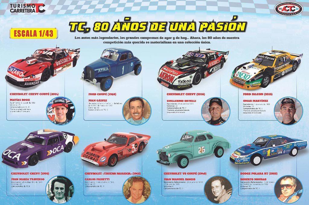 Colección autos del TC