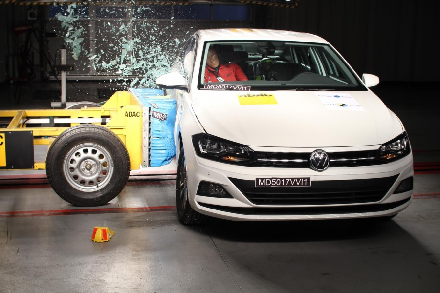 Cinco estrellas Latin NCAP para el VW Virtus