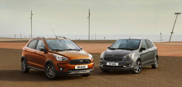 Oficial: Ford Europa mostró el restyling del Ka y el interior de la versión Freestyle
