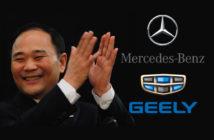 Geely es el mayor accionista de Daimler