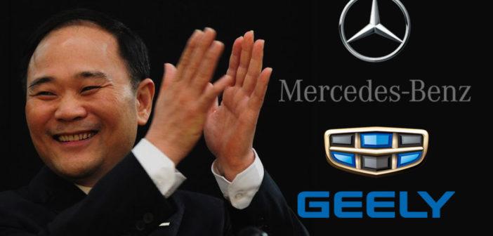 Geely va por todo: después de Volvo y Lotus ahora es el mayor accionista en Daimler