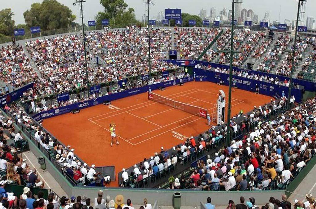 El Argentina Open se juega, como cada verano, en el Buenos Aires Lawn Tennis Club.