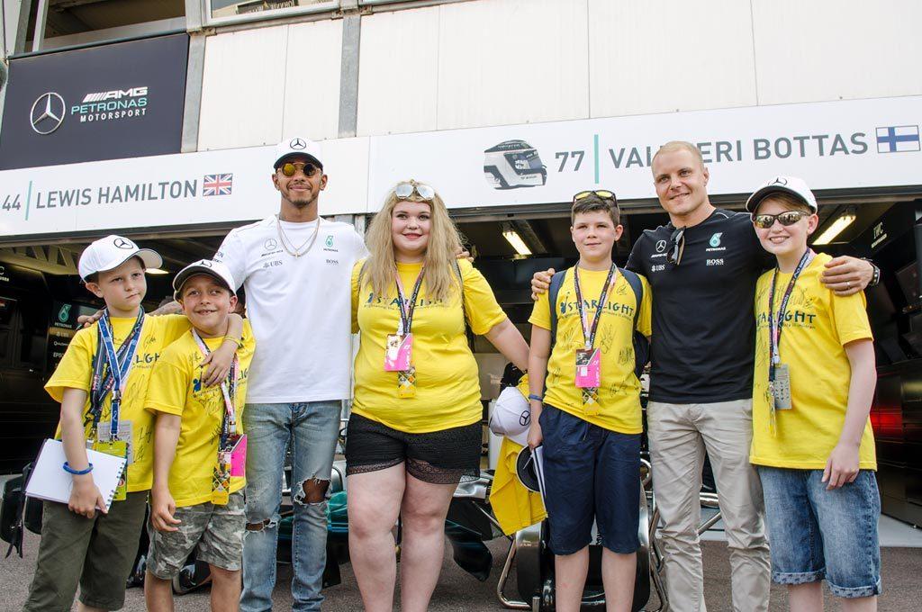 Chicos en la F1