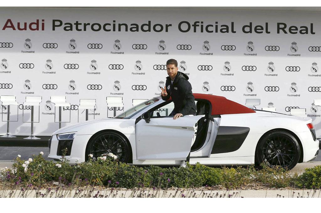 El Audi R8 de Sergio Ramos