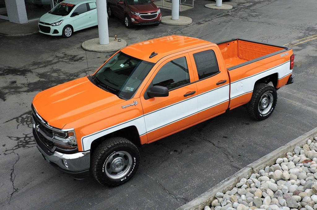 Chevrolet Silverado 2018