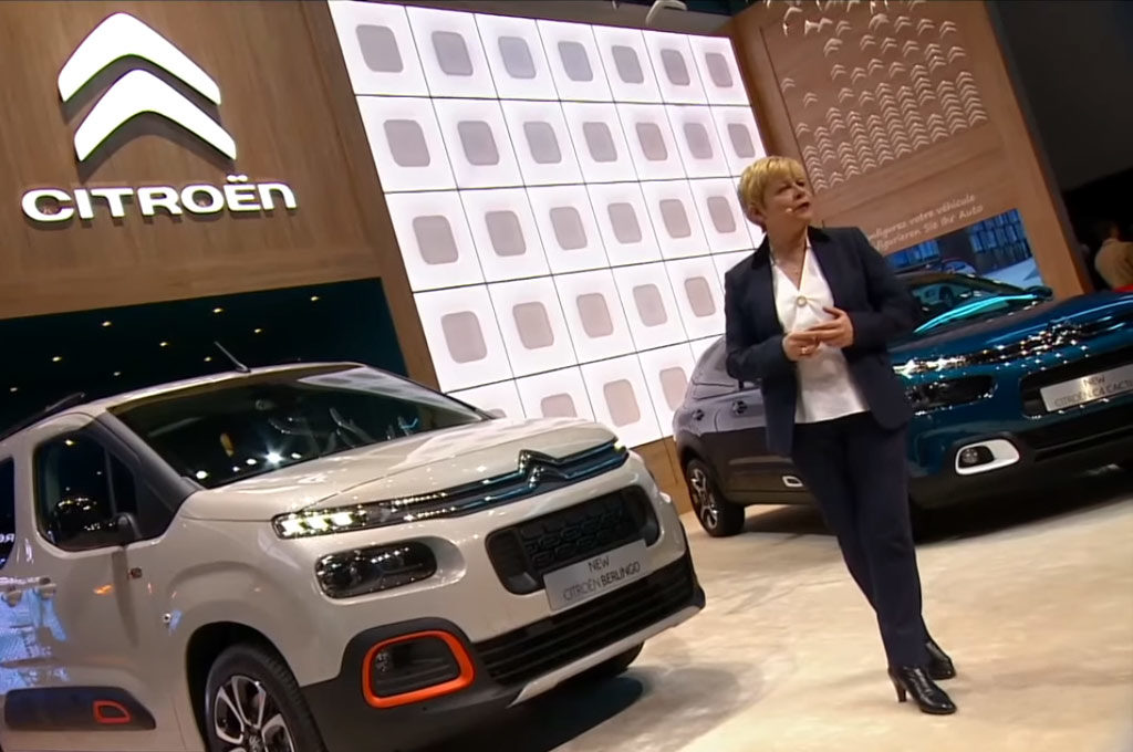 Linda Jackson, CEO de Citroen