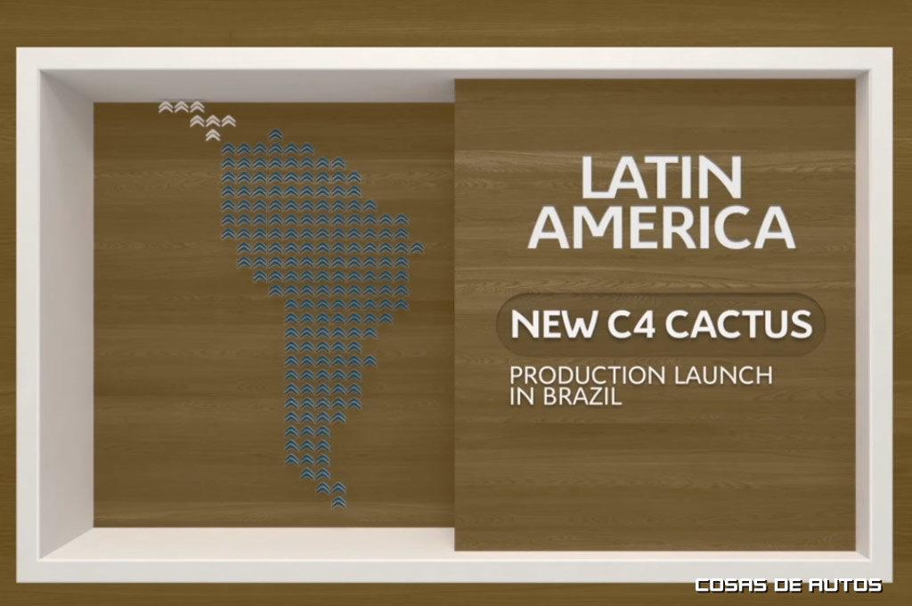 Citroën confirmó la producción del Nuevo C4 Cactus en Brasil