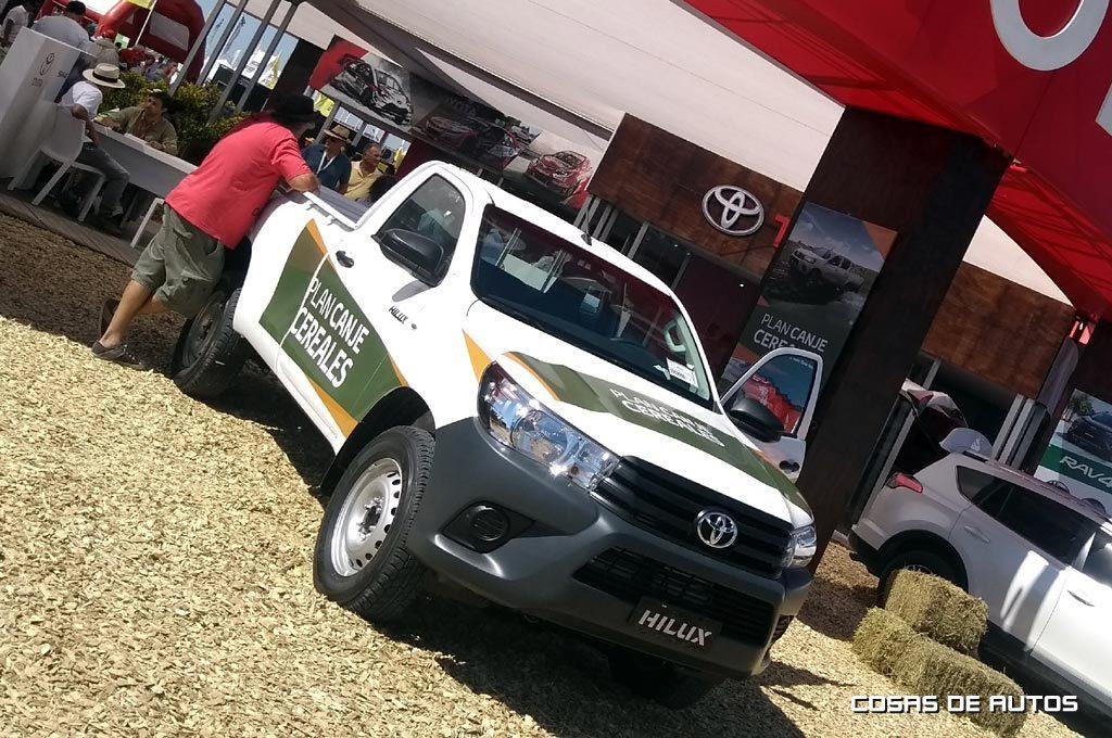 Toyota presentó su Plan Canje de granos