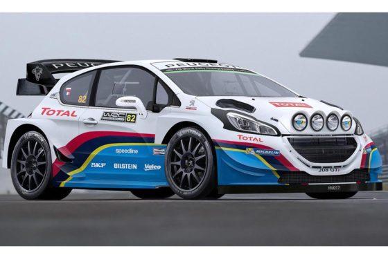 Peugeot 208 GTi de FIA WRX