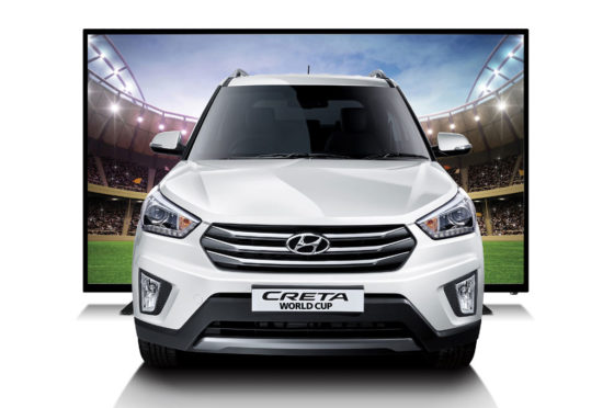 Hyundai Creta World Cup