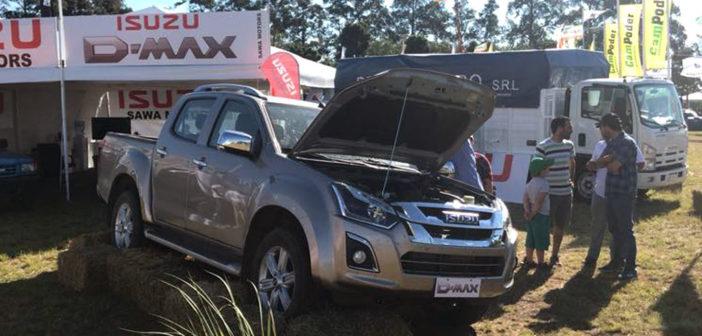 La Isuzu D-Max ya se muestra en Argentina y se lanzará antes de fin de año