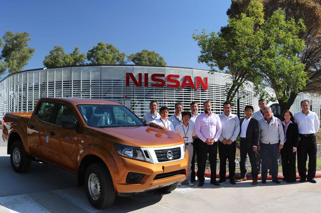 Primer prototipo argentino de la Nissan Frontier