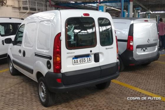 La Nueva y la vieja Renault Kangoo