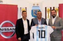 Nissan es el nuevo sponsor de la Selección Argentina de fútbol