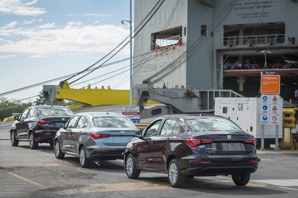 Fiat Cronos Exportación