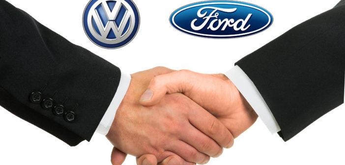 """VW y Ford anunciaron una alianza global: las próximas Ranger y Amarok serán """"hermanas"""""""