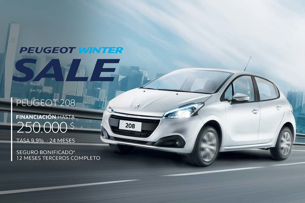 Peugeot 208 Winter sale