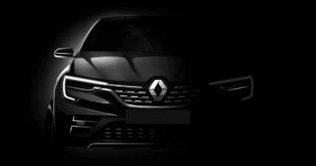 Teaser del SUV del segmento C que Renault develará en el Salón de Moscú 2018.