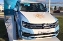 VW Amarok en Ezeiza durante el Mundial 2018
